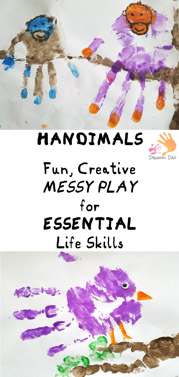 Handimals Messy Play Essential Skills