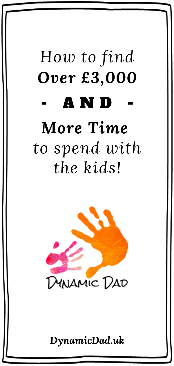 How to find over 3k and more time to spend with the kids Pin 3