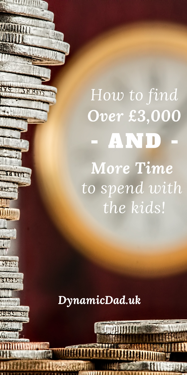 How to find over 3k and more time to spend with the kids - Pin 1
