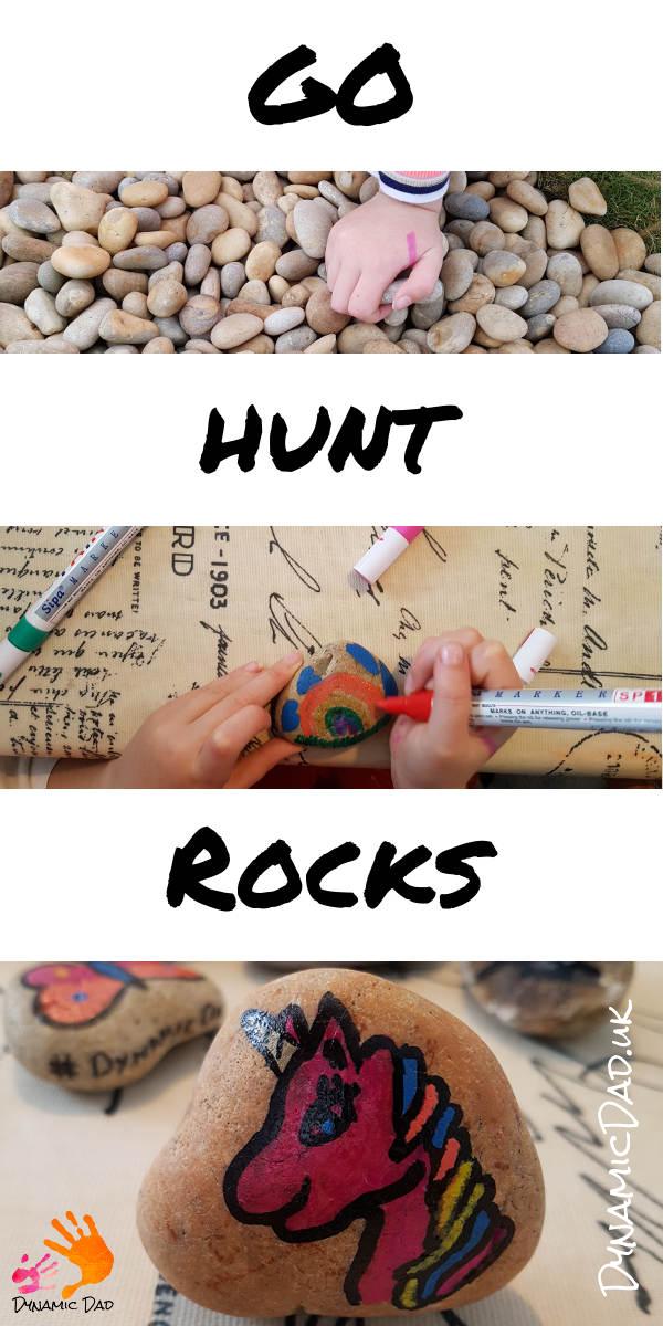 Go Hunt Rocks - Rock Hunting - DynamicDadRocks - Dynamic Dad