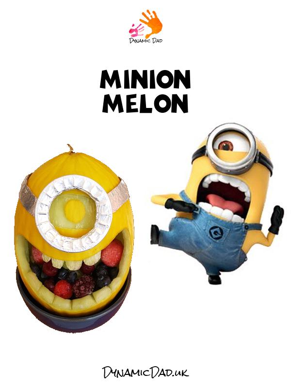Minion Melon - Fun Food - Dynamic Dad