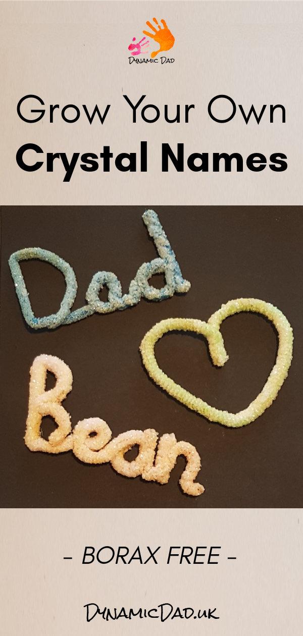 Crystal Names Borax Free - Dynamic Dad