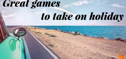Great games to take on holiday - Dynamic Dad