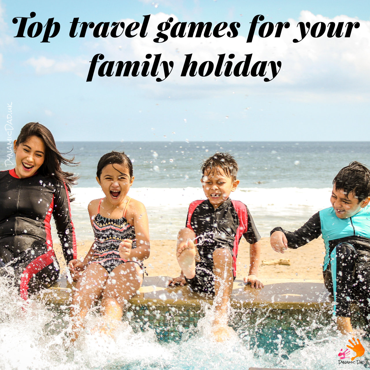 Top travel games for your family holiday - Dynamic Dad