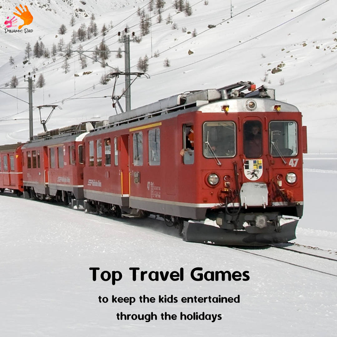 Top travel games to keep the kids entertained through the holidays - Dynamic Dad