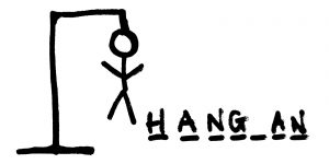 hangman - great games to take on holiday - dynamic dad
