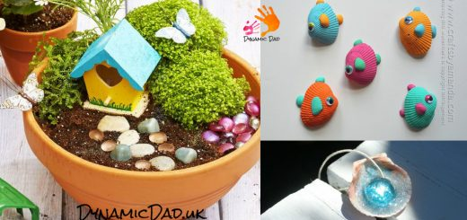 Awesome Ideas for Summer Crafts - Dynamic Dad