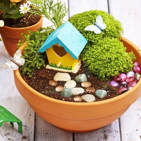 fairy garden summer craft ideas dynamic dad
