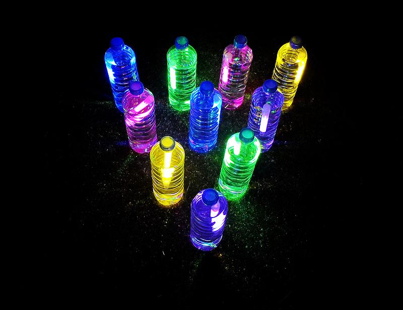 glow-bowling summer craft ideas dynamic dad
