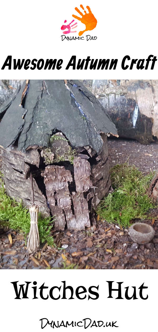 Awesome Autumn Craft - Witches Hut - Dynamic Dad