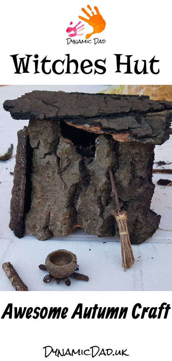 Witches Hut - Awesome Autumn Craft - Dynamic Dad
