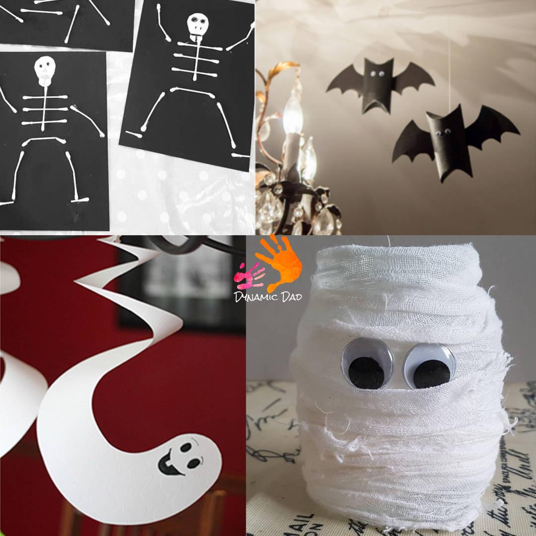 Dead Easy Halloween Craft Activities For Kids - Dynamic Dad