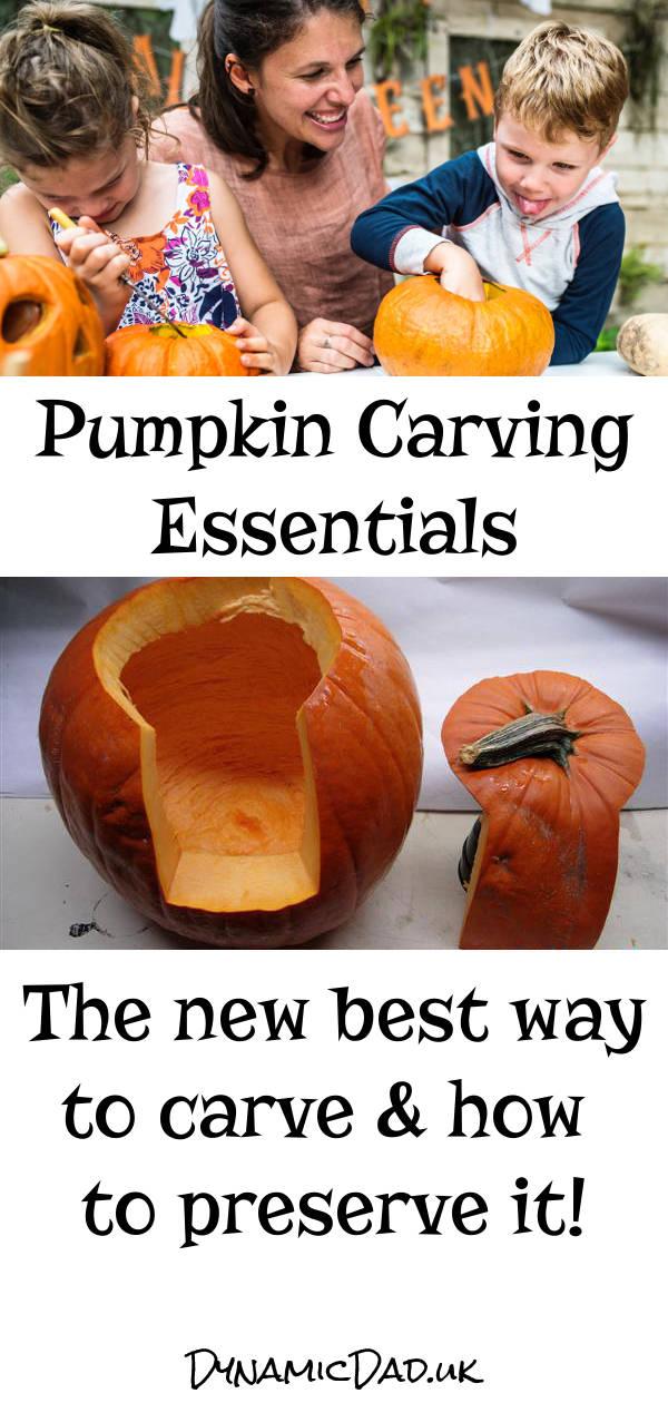 Pumpkin carving essentials