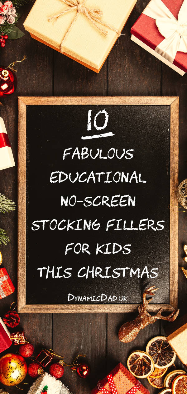 10 educational no screen stocking fillers for kids this christmas
