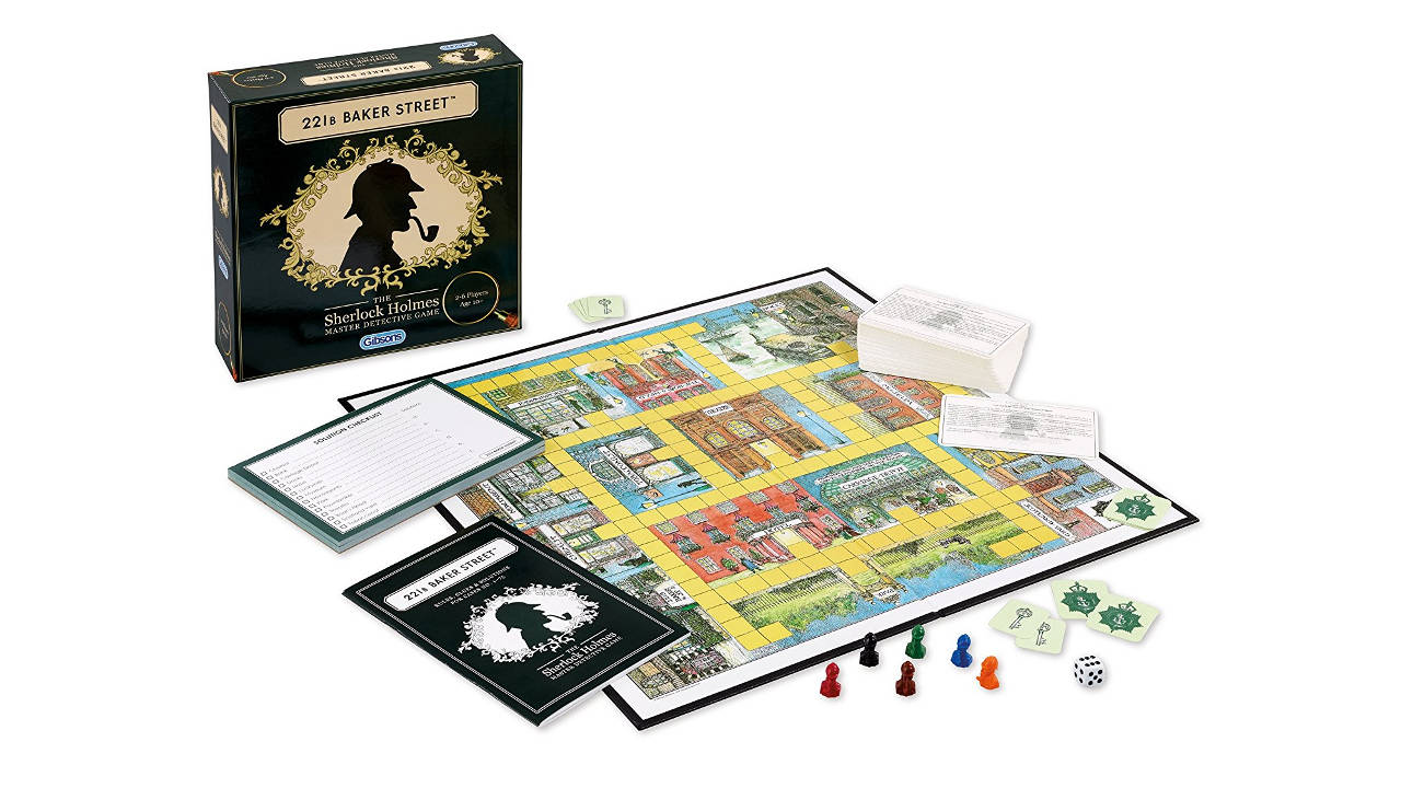 221B Baker Street Best Board Games For Families And Kids Dynamic Dad