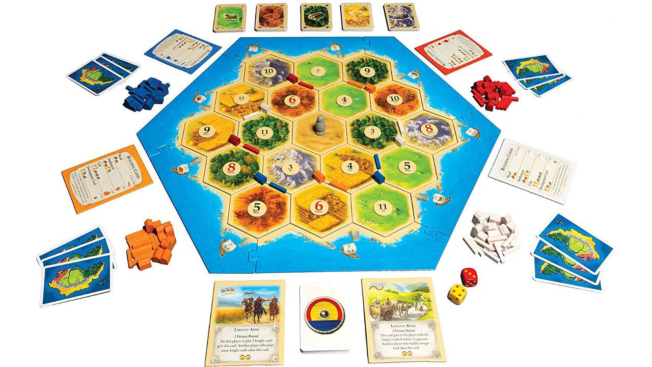 Catan Best Board Games For Families And Kids Dynamic Dad