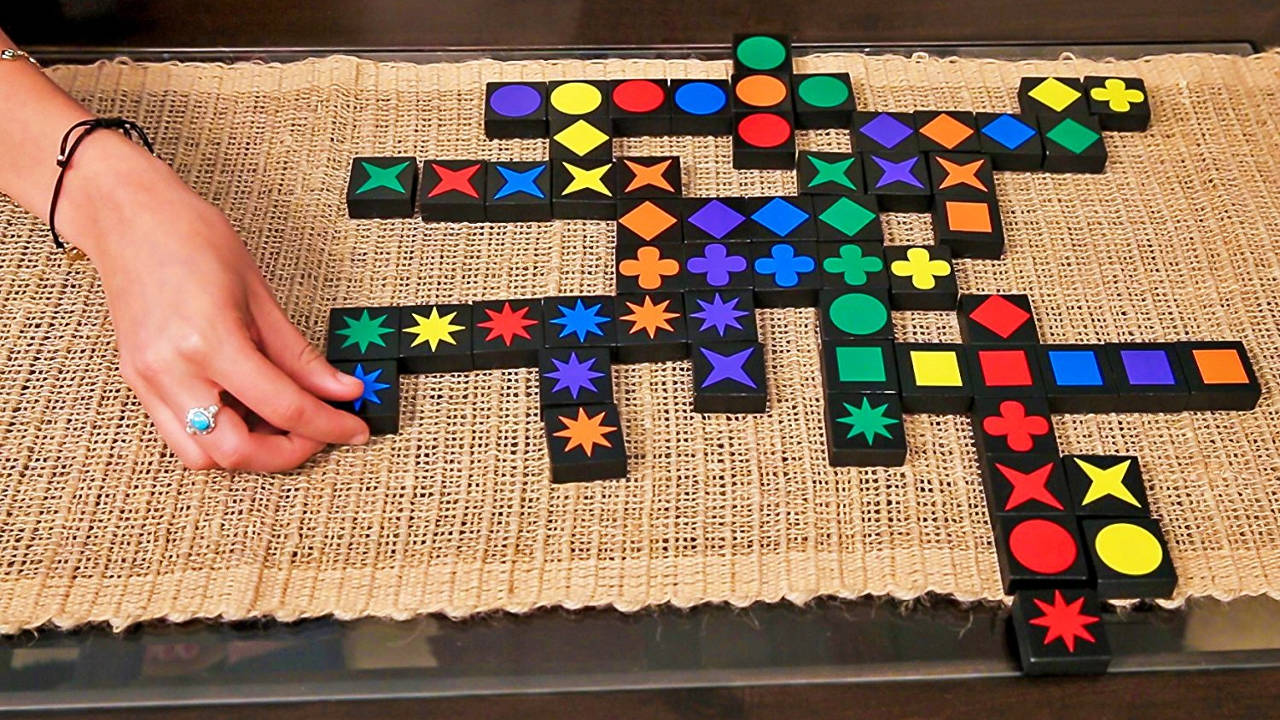 Qwirkle Best Board Games For Families And Kids Dynamic Dad