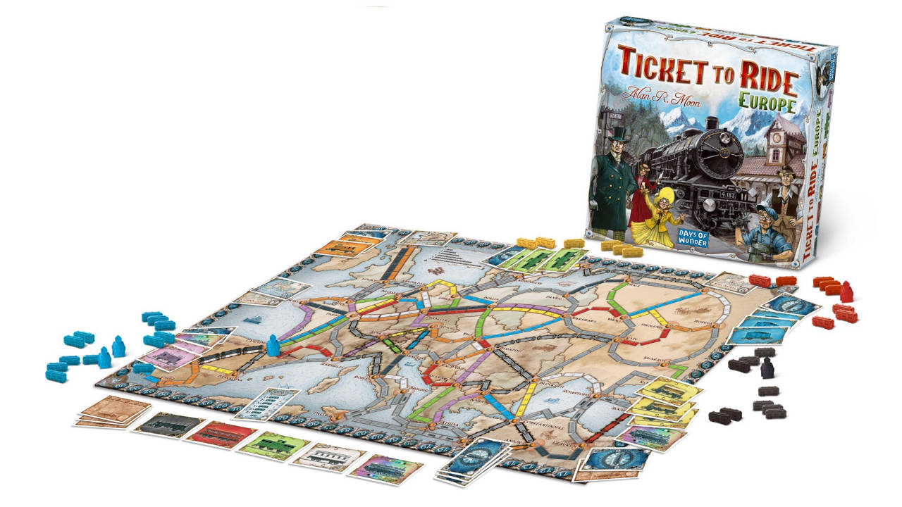 Ticket to Ride Best Board Games For Families And Kids Dynamic Dad
