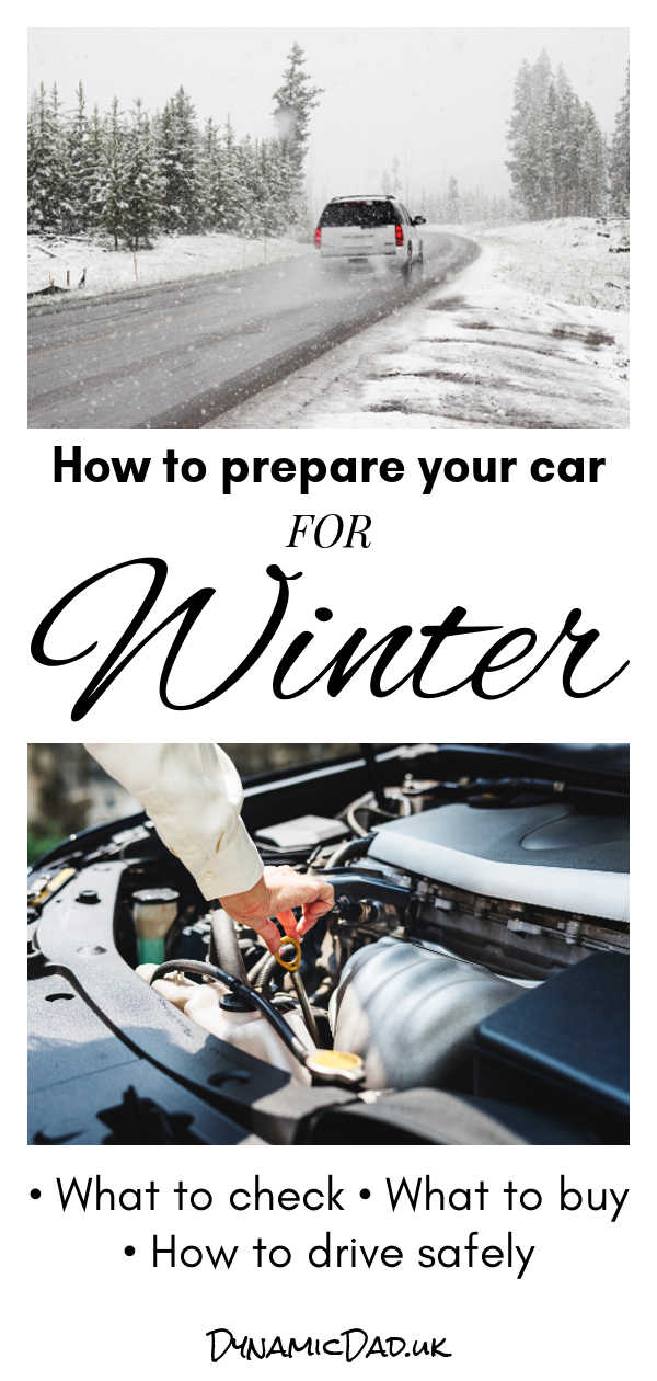 how to prepare your car for winter dynamic dad