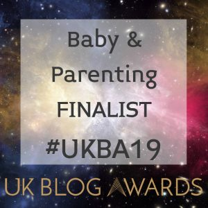 UK Blog Awards Baby & Parenting Finalist 2019 DynamicDad.uk