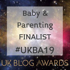 UK Blog Awards Baby & Parenting Finalist 2019 DynamicDad.uk