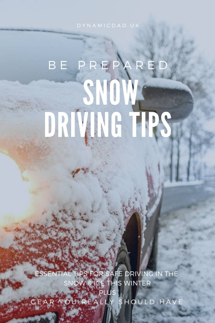 Essential tips for how to drive safely in the snow & ice this winter plus gear you really should have