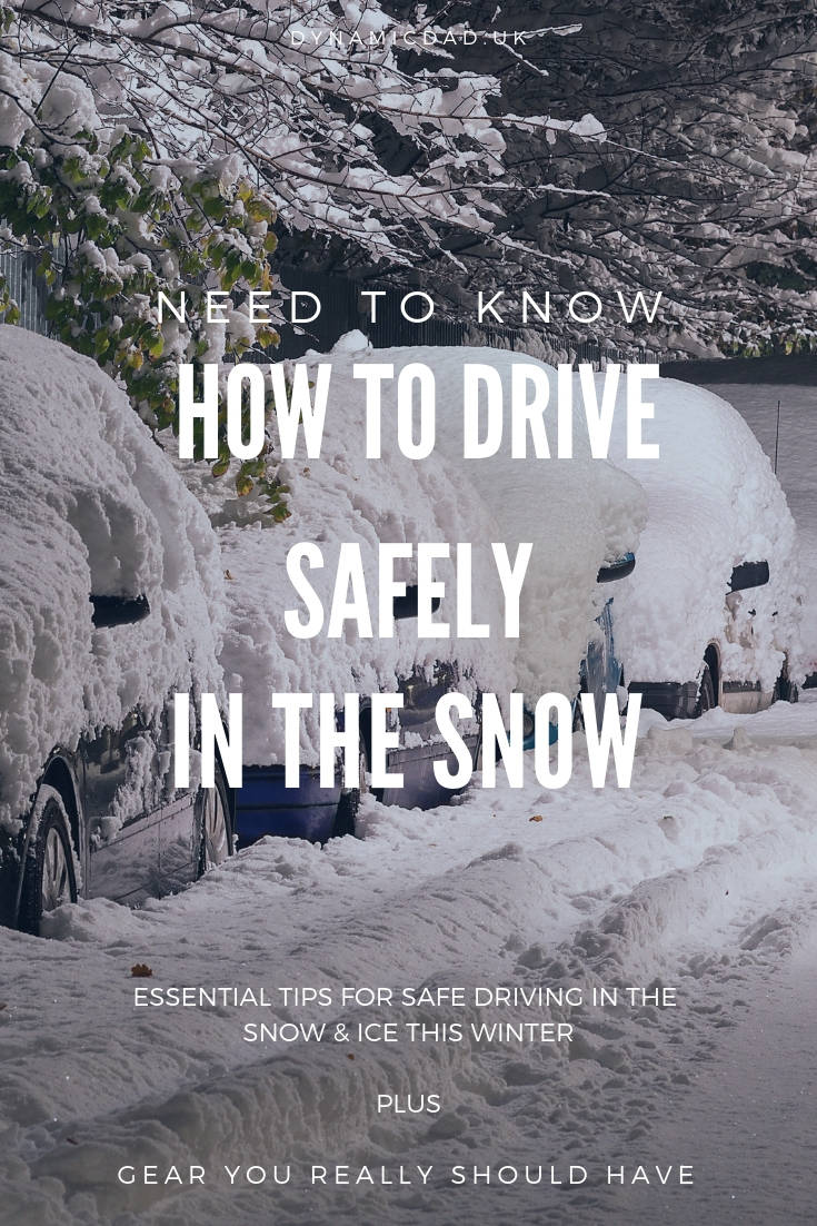 Essential tips on how to drive safely in the snow & ice this winter, plus gear you really should have