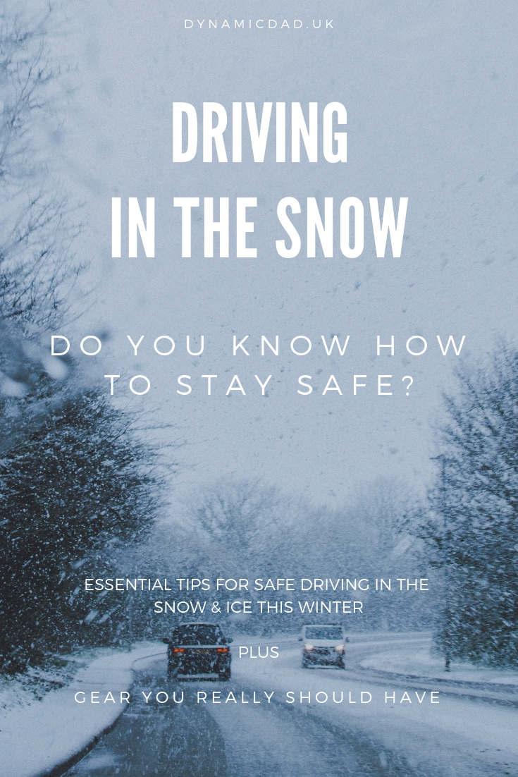 Essential tips on how to drive safely in the snow & ice this winter plus gear you really should have