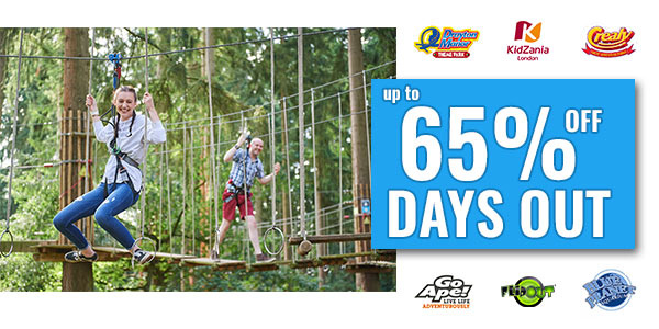 Up to 65% off days out with Kids Pass & Dynamic Dad