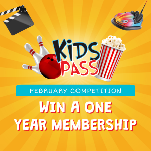 Win a 1 year Kids Pass Membership