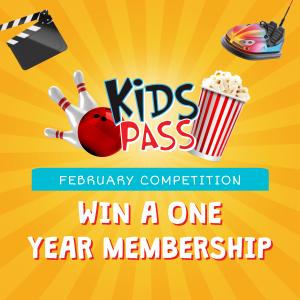 Win a 1 year Kids Pass Membership