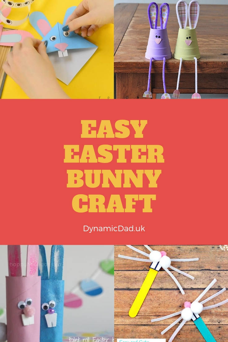 Easter 2019 10 Super Simple Easter Bunny Crafts For Kids Dynamic Dad
